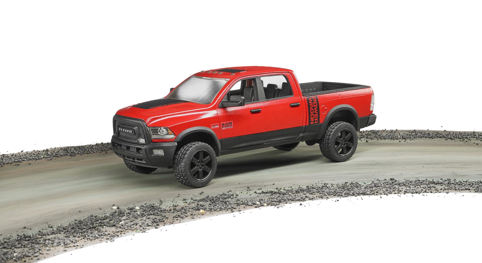 bruder ram 2500 power wagon toyzone. Black Bedroom Furniture Sets. Home Design Ideas
